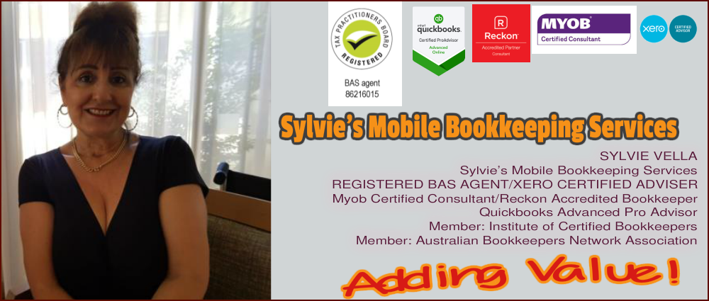 Sylvia's Mobile Bookkeeping Services